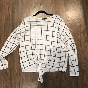J crew long sleeved shirt